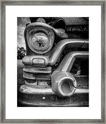1950s Gmc 370 Truck Framed Print