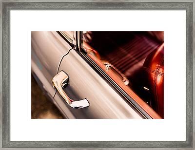 1950's Mercedes Framed Print