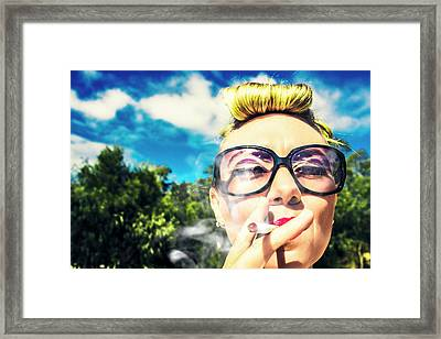 1950s Pin Ups Framed Print by Jorgo Photography - Wall Art Gallery