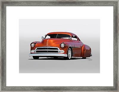 1951 Chevrolet Custom Coupe Framed Print by Dave Koontz