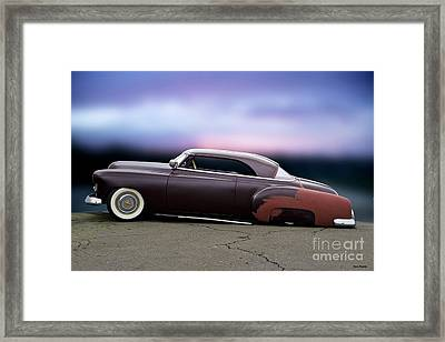 1951 Chevrolet 'tail Dragger' Custom Hardtop Framed Print by Dave Koontz