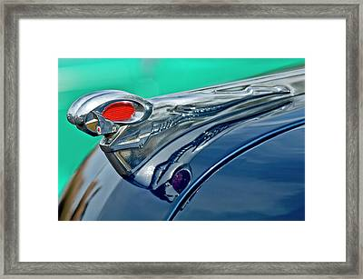 1951 Dodge Pilot House Pickup Hood Ornament Framed Print by Jill Reger