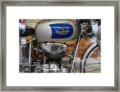 1951 Fb Mondial 125cc Bialbero Grand Prix . 5d16939 Framed Print by Wingsdomain Art and Photography