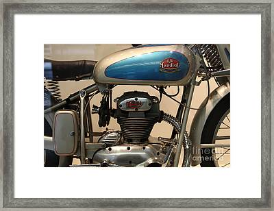 1951 Fb Mondial 125cc Turismo . 5d16993 Framed Print by Wingsdomain Art and Photography