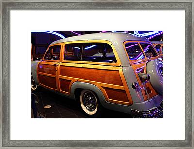 1951 Ford Country Squire - 7d17485 Framed Print by Wingsdomain Art and Photography