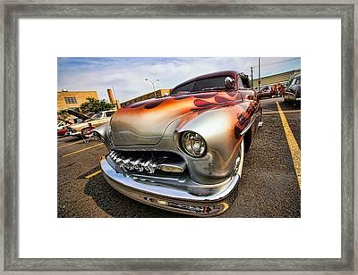 1951 Mercury Custom Framed Print