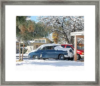 1952 Chevrolet Bel Air Framed Print