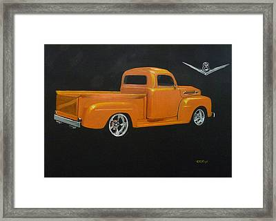 1952 Ford Pickup Custom Framed Print
