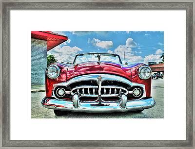 1952 Packard 250 Convertible Framed Print