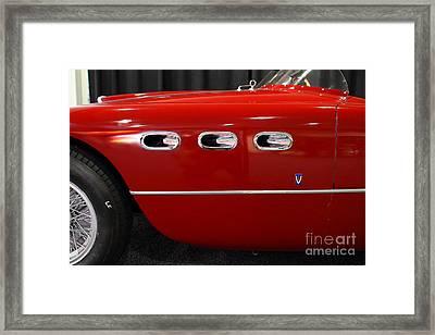 1953 250mm Ferrari . Red . 7d9146 Framed Print