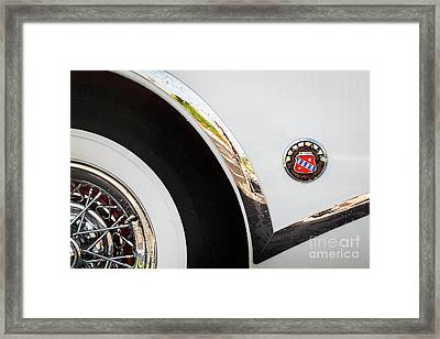 Framed Print featuring the photograph 1953 Buick Abstract 2 by Dennis Hedberg