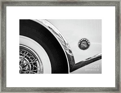 Framed Print featuring the photograph 1953 Buick Abstract  by Dennis Hedberg