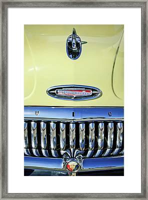 1953 Buick Special Hood Ornament Framed Print by Jill Reger