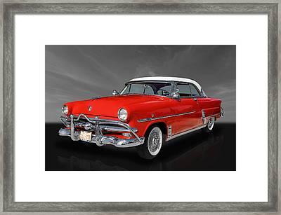 1953 Ford Crestline  Framed Print by Frank J Benz