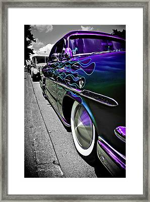 Framed Print featuring the photograph 1953 Ford Customline by Joann Copeland-Paul