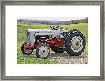 1953 Ford Golden Jubilee Naa Framed Print