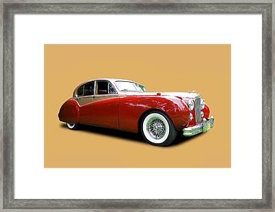 1953 Jaguar Mk V I I  Framed Print by Allen Beatty