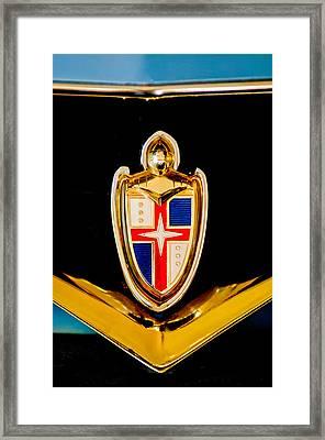 1953 Lincoln Capri Emblem Framed Print