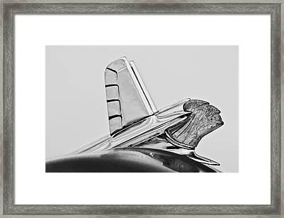 1953 Pontiac Hood Ornament 2 Framed Print by Jill Reger