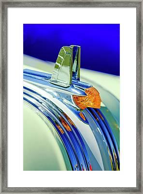 1953 Pontiac Hood Ornament 5 Framed Print by Jill Reger
