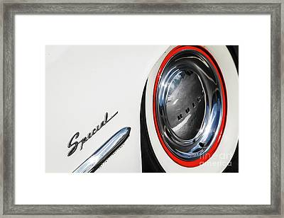 Framed Print featuring the photograph 1953 Special by Dennis Hedberg