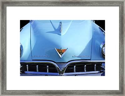 1953 Studebaker Emblem Framed Print by Jill Reger