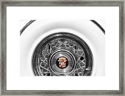1954 Cadillac Eldorado Framed Print by Tim Gainey