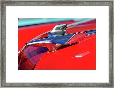 1954 Chevrolet Hood Ornament 3 Framed Print