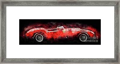 1954 Ferrari 375 Framed Print by Jon Neidert