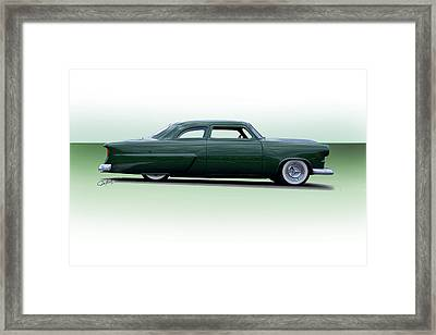 1954 Ford Customline Coupe Framed Print by Dave Koontz