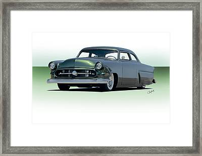 1954 Ford Customline Coupe II Framed Print by Dave Koontz