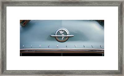 1954 Oldsmobile Super 88 Grille Emblem -110c Framed Print by Jill Reger