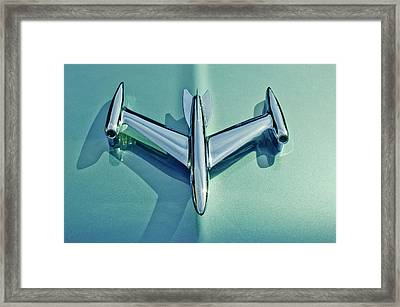 1954 Oldsmobile Super 88 Hood Ornament 2 Framed Print by Jill Reger