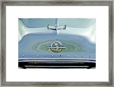 1954 Oldsmobile Super 88 Hood Ornament 3 Framed Print by Jill Reger