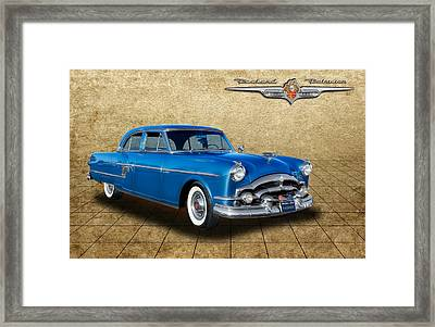 1954 Packard Patrician 4 Door Sedan Framed Print