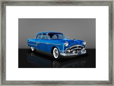 1954 Packard Patrician Sedan Series 5426 Framed Print
