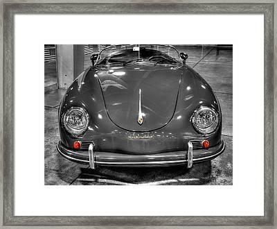 1954 Porsche 356 Speedster  V6 Framed Print