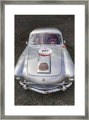 1954 Siats Vignale Coupe Framed Print by Jack R Perry
