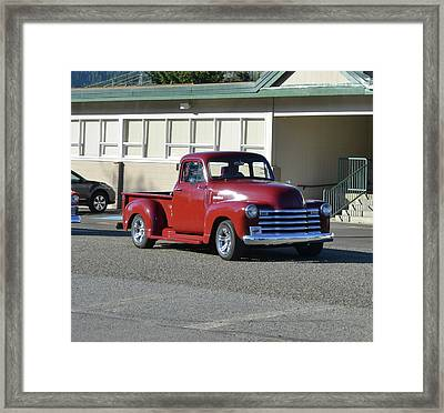 1955 Chev 1st Series Lindquist Framed Print