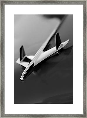 1955 Chevrolet Belair Hood Ornament 2 Framed Print by Jill Reger