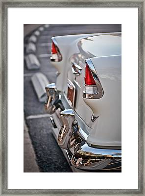 1955 Chevrolet Belair Tail Lights Framed Print