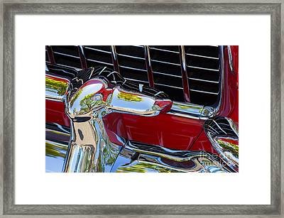 1955 Chevy Coupe Grill Framed Print