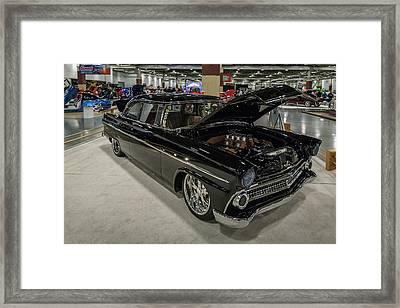 1955 Ford Customline Framed Print by Randy Scherkenbach