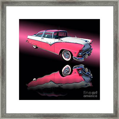 1955 Ford Fairlane Crown Victoria Framed Print