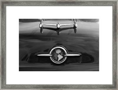 1955 Oldsmobile Holiday 88 Hood Ornament 2 Framed Print by Jill Reger