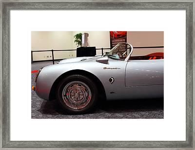 1955 Porsche 550 Rs Spyder . 7d 9411 Framed Print