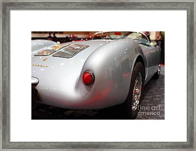 1955 Porsche 550 Rs Spyder . 7d9453 Framed Print