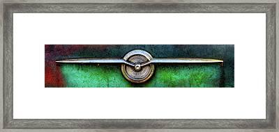 1956 Buick Special Emblem Framed Print