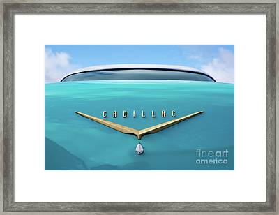 Framed Print featuring the photograph 1956 Cadillac Sedan De Ville by Tim Gainey