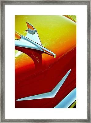 1956 Chev Bel Air Framed Print